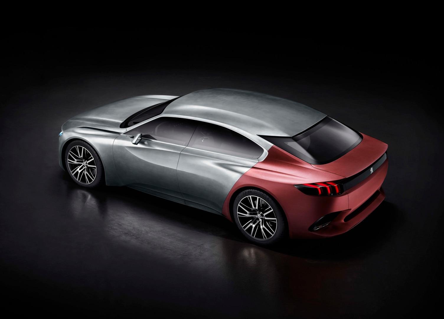 Peugeot Exalt - El diseño elegante y atlético del Concept car