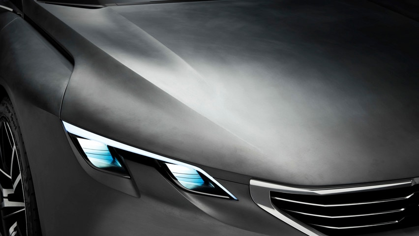 Tecnología Exalt - El Concept car está dotado con la tecnología HYbrid4
